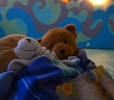 La stanza azzurra per la nanna